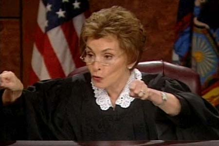 Judge Judy rushed to hospital