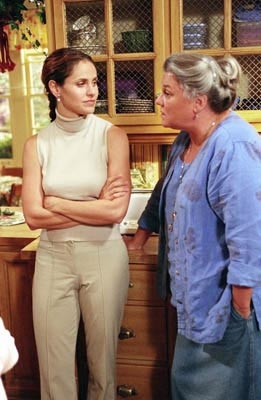 Amy and Tyne Daly in Judging Amy