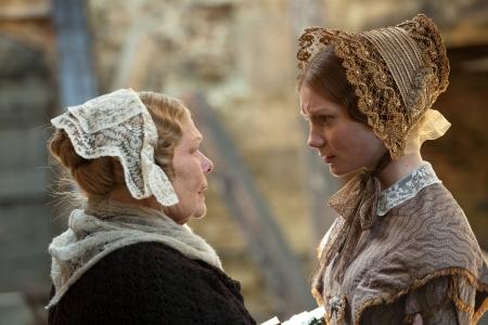 Judi Dench and Mia Wasikowska in Jane Eyre