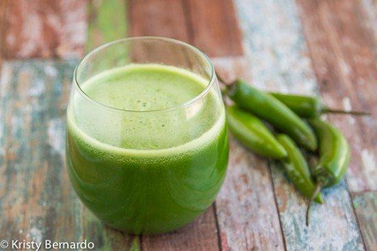 spicy green juice