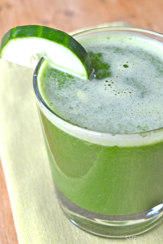 Pear Cucumber Juice