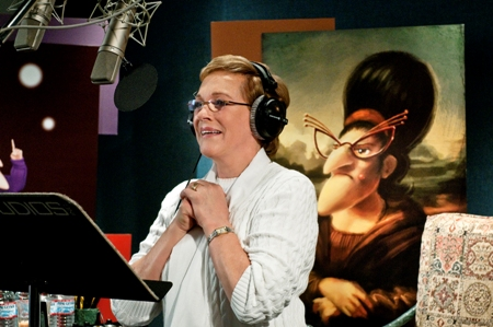 Julie Andrews voices Gru's Mom in Despicable Me