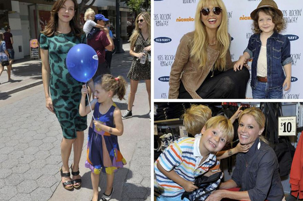 Julie Bowen, Rachel Zoe, Michelle Monaghan at Baby2Baby event