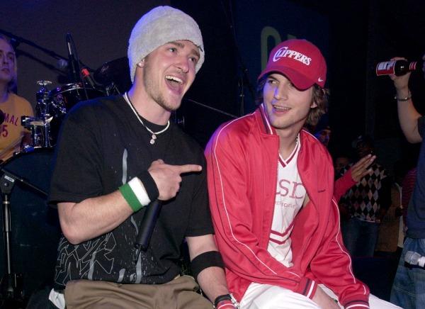 Justin Timberlake and Ashton Kutcher