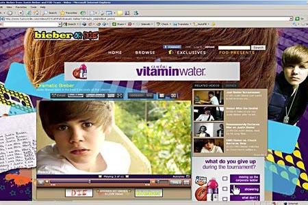 Justin Bieber's 2010 April Fool's Day joke