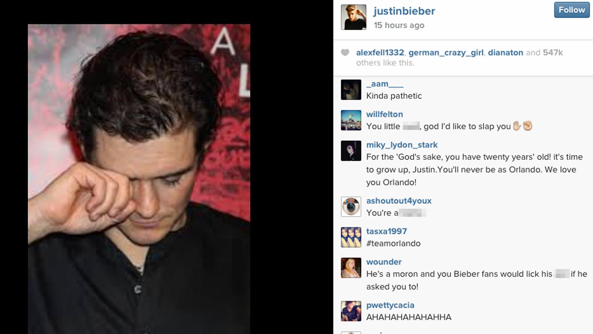Justin Bieber's Instagram