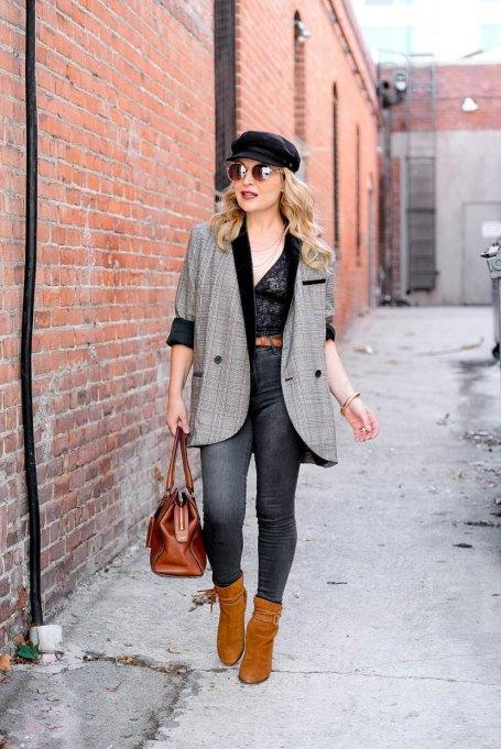 Modern Ways to Wear Blazers: The Hunter Collector | Fall Fashion 2017