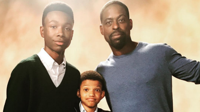 Niles Fitch, Lonnie Chavis, Sterling K. Brown, 'This Is Us' Behind the Scenes