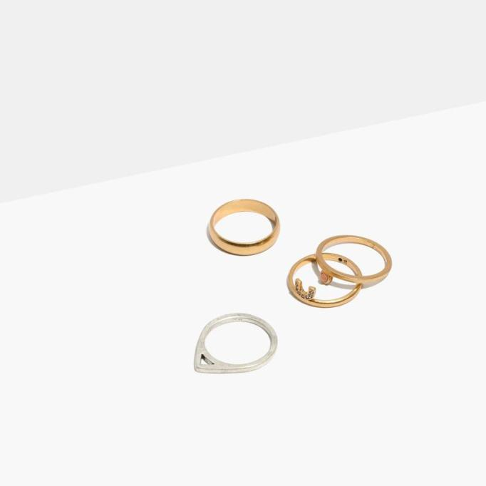 Stackable Rings To Stock Up On: Mixer Stacking Rings | Summer Fashion 2017