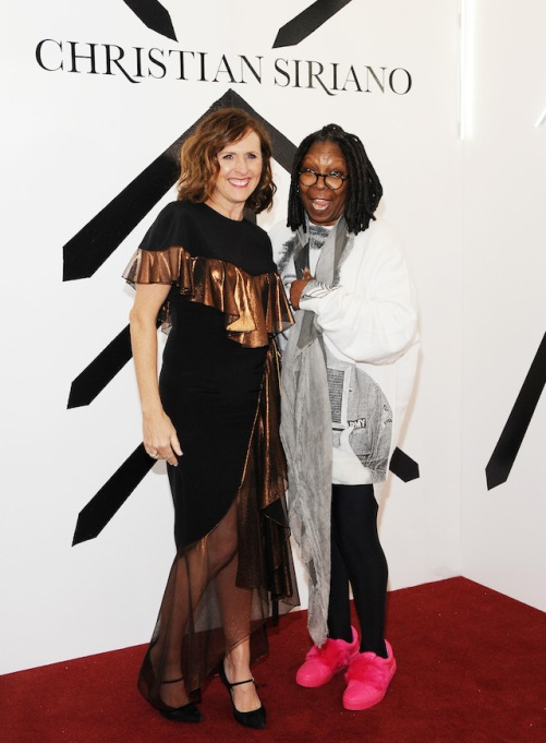 NYFW 2018 Celebrity Sightings: Molly Shannon & Whoopi Goldberg
