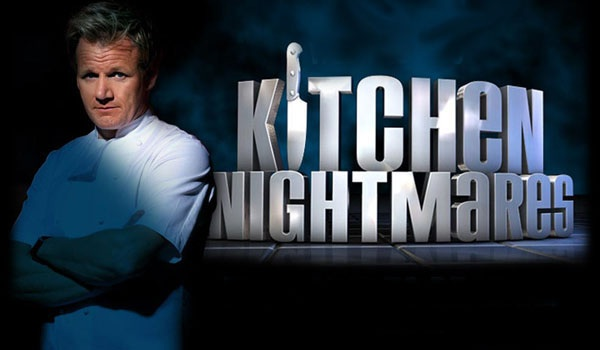 Chef Gordon Ramsay on Kitchen Nighmares