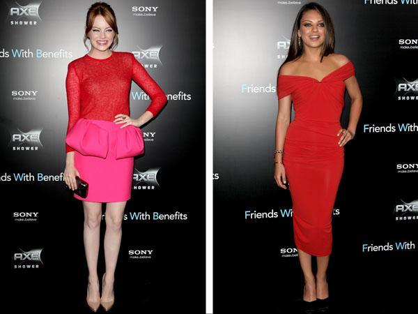 Fashion face-off: Emma Stone vs. Mila