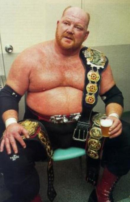 Still of Leon White, WWE Wrestler