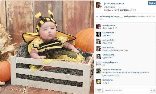JWoww's daughter Meilani Halloween costume