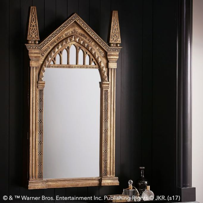 PB Teen Harry Potter Collection: This ornate mirror also stores your jewelry