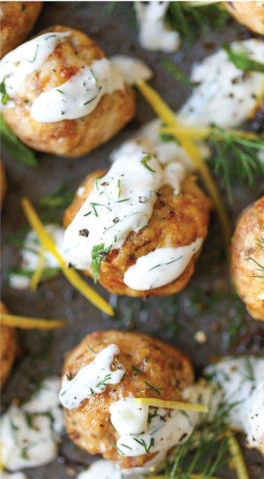 Recipe swaps to help your partner eat healthier | turkey meatballs