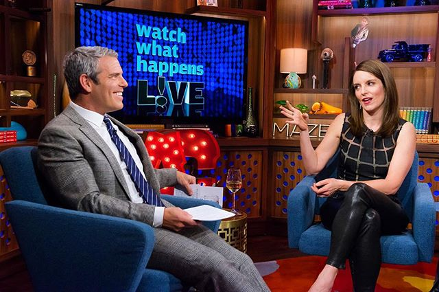 Andy Cohen on WWHL