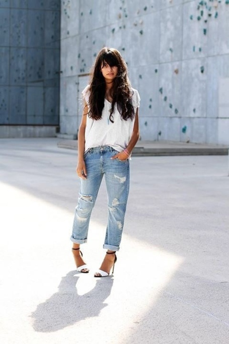 How to Wear a Plain White T-Shirt in the Summer | Summer Fashion 2017