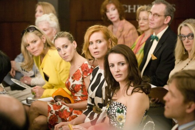 Kim Cattrall, Sarah Jessica Parker, Kristin Davis and Cynthia Nixon in Sex and the City