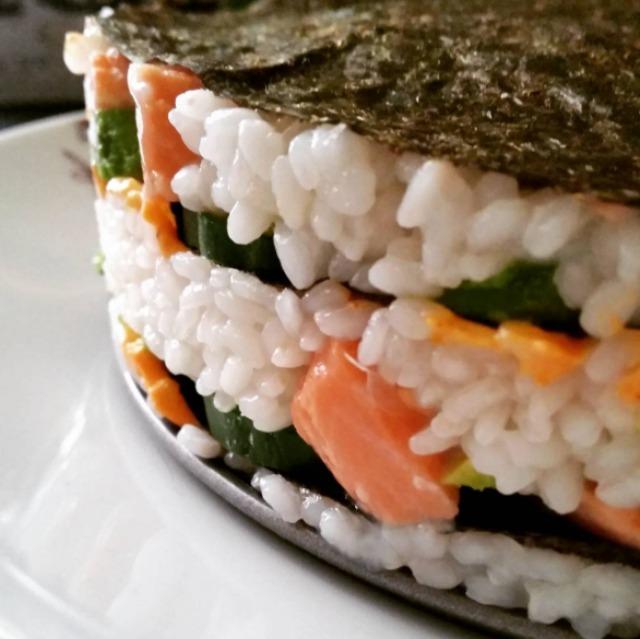 Sushi pie