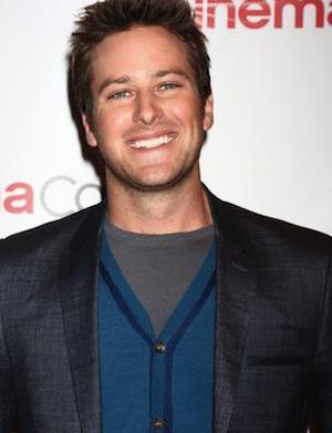 Armie Hammer follows Tom Cruise to