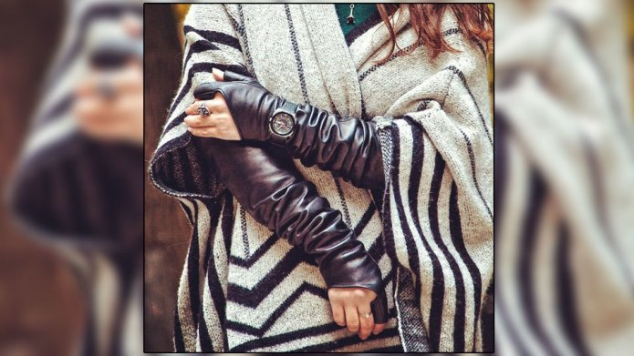 6 Creative ways to wear gloves