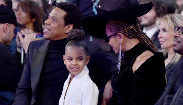 Blue Ivy Shushing Beyoncé & Jay-Z
