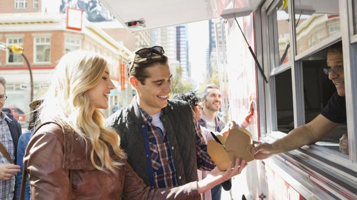Lighter twists on food truck favorites
