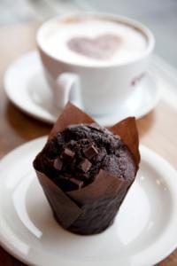 Chocolate love muffins