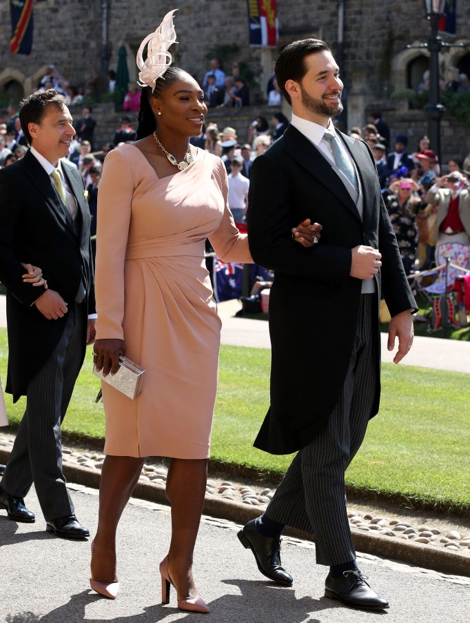 Serena Williams & Alexis Ohanian royal wedding