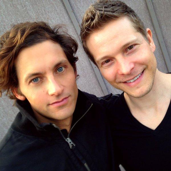 Tanc Sade and Matt Czuchry