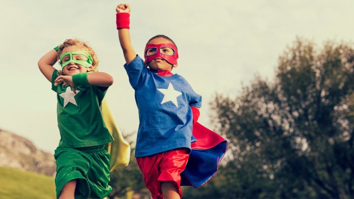 Superhero Worship May Make Kids More