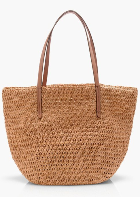 The Most-Pinned Summer Fashion Trends of 2017: J.Crew Straw Market Tote | Summer Fashion Trends