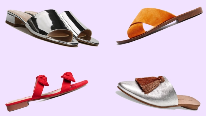 9 Stylish, Comfy Pairs of Slides