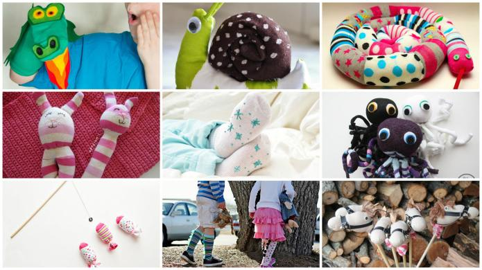 10 Simple sock crafts for kids