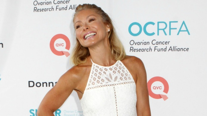 Don't expect Kelly Ripa to announce