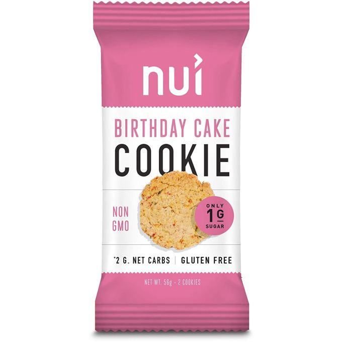 NUI Birthday Cake Keto Cookies