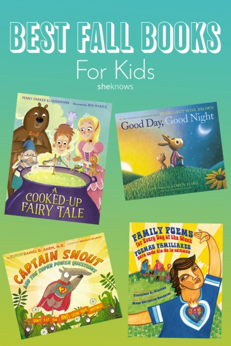 Pin it! The Best Books to Read With Your Kids This Fall