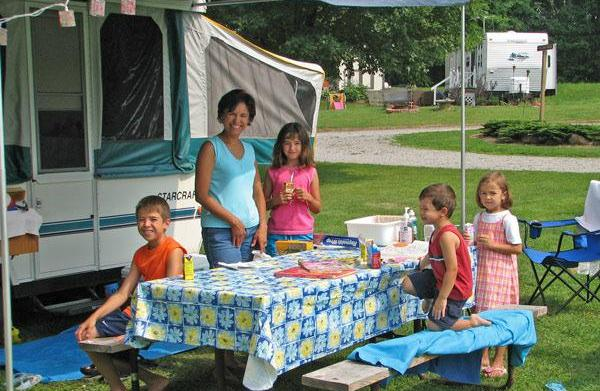 Wisconsin campgrounds for the family