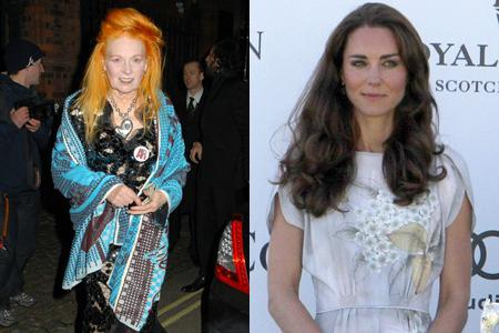 Vivienne Westwood slams Kate Middleton's makeup