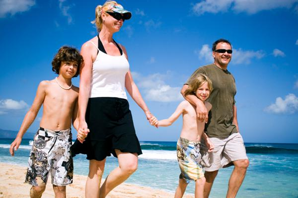 Summer vacation destinations for families
