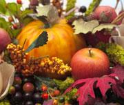 Fall Produce Centerpiece