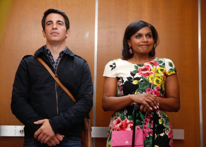 Chris Messina and Mindy Kaling in The Mindy Project