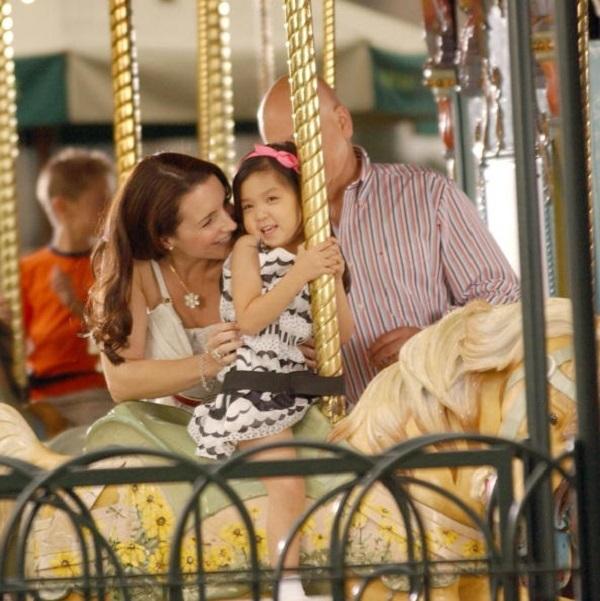 Kristin Davis adopted daughter