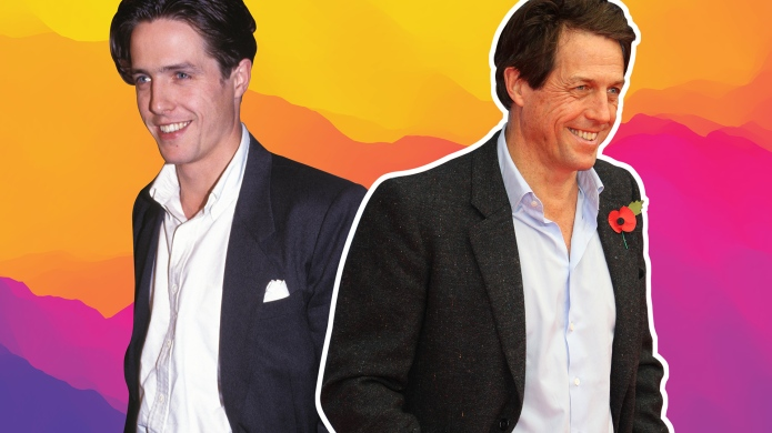 SheKnows Collage of Hugh Grant photos