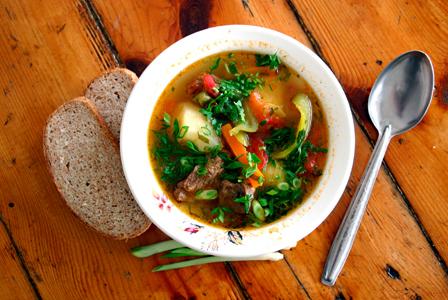 Kale superfood soup