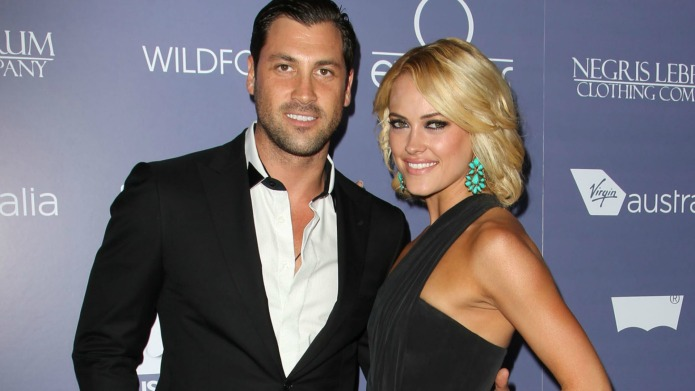 Maksim Chmerkovskiy's wedding day is going