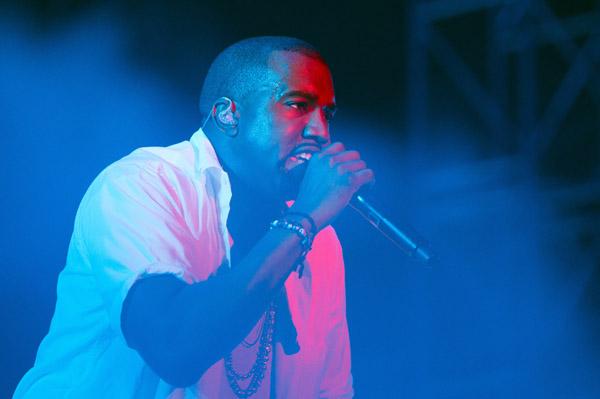 Kanye West showing fashion line Oct 1