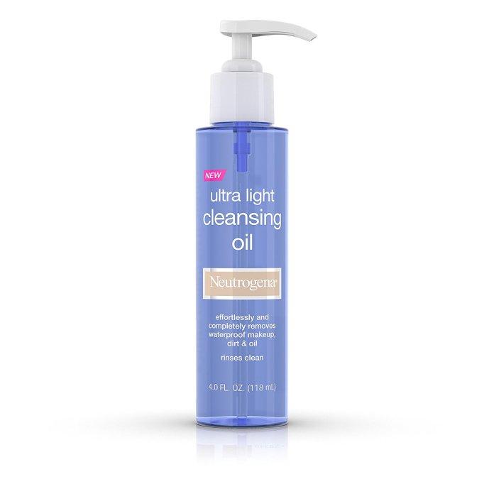 Meet Cleansing Oils: Neutrogena, Ultra Light Cleansing Oil | Skin Care 2017
