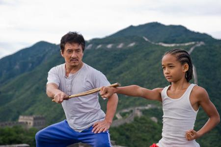 The Karate Kid stars Jackie Chan and Jaden Smith